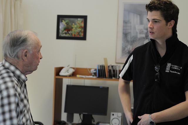 Advising patient